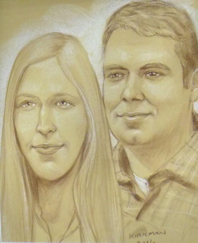 """Portraits at the San Antonio Rodeo"" original fine art by Rita Kirkman"