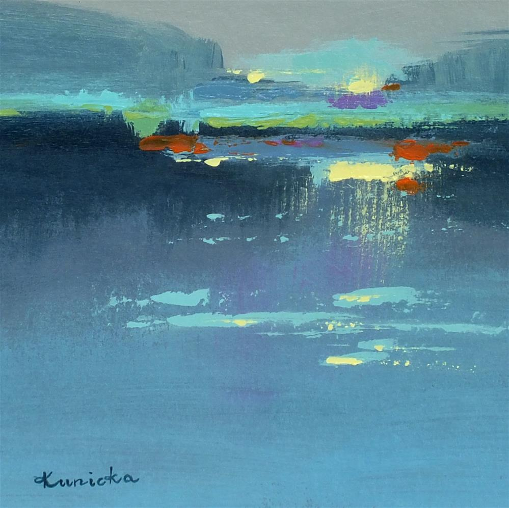 """Landscape 245"" original fine art by Ewa Kunicka"