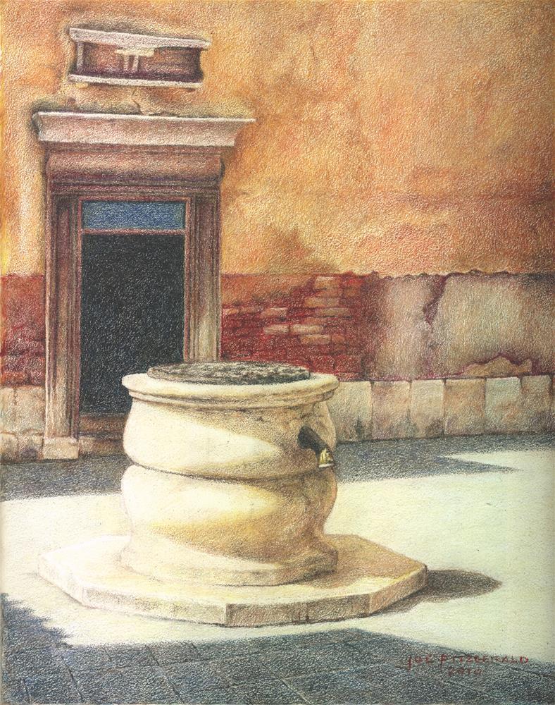 """""""S. Canzian - Canarregio"""" original fine art by Joe Fitzgerald"""
