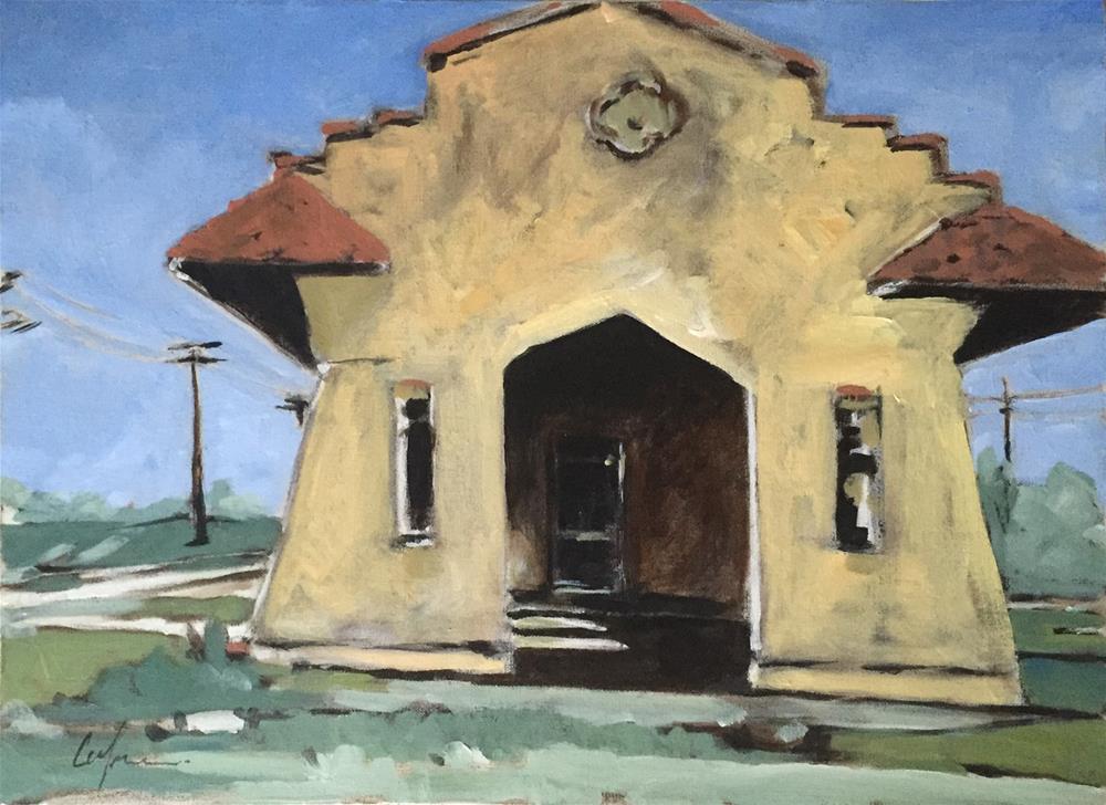 """""""Sugarland, Texas"""" original fine art by Cornelis vanSpronsen"""
