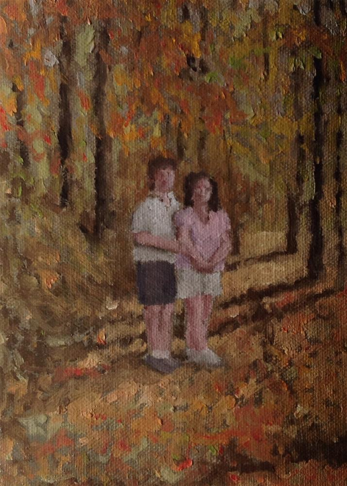"""Autumn"" original fine art by Bruce Housey"
