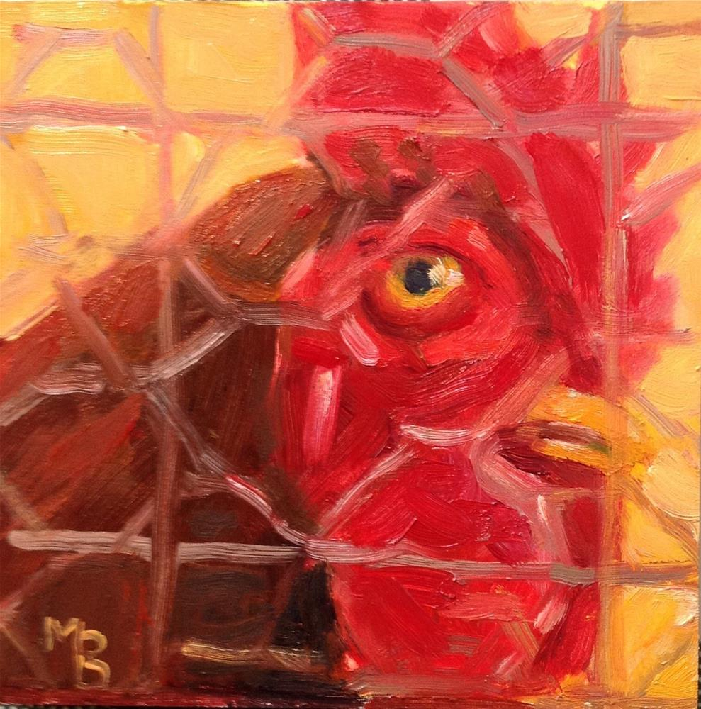 """I Spy My Little Eye"" original fine art by Marcia Bergtholdt"