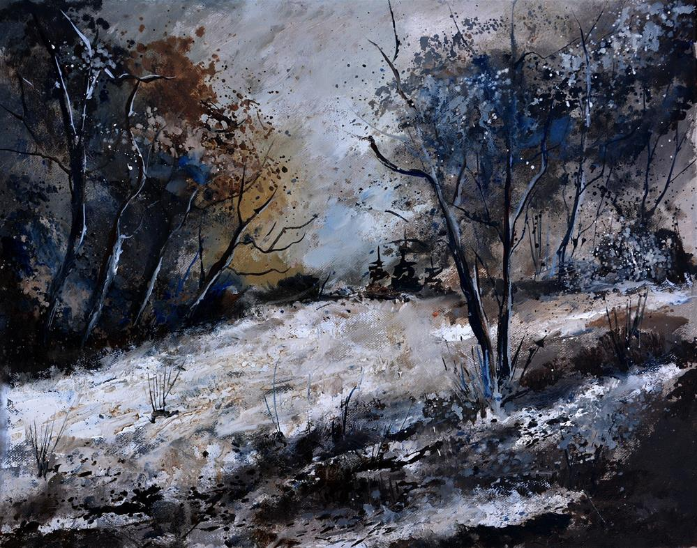 """winter 545111"" original fine art by Pol Ledent"