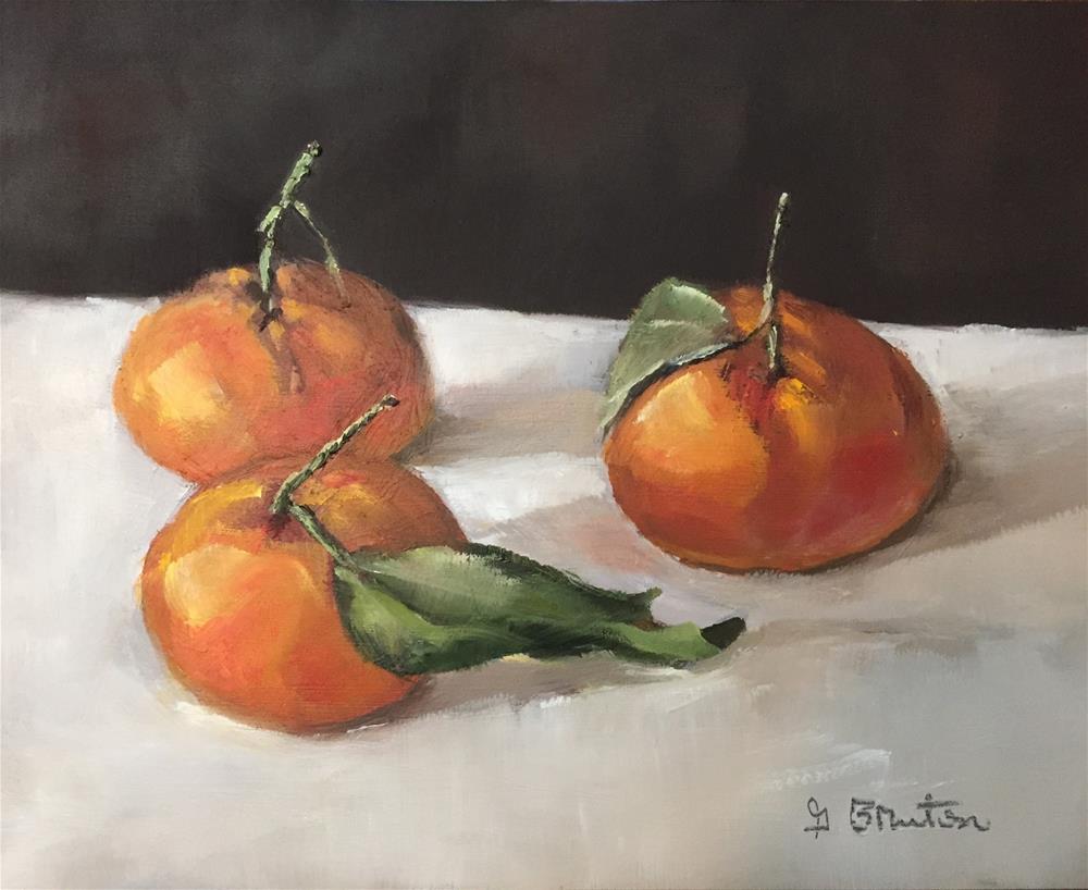 """Tangerines"" original fine art by Gary Bruton"