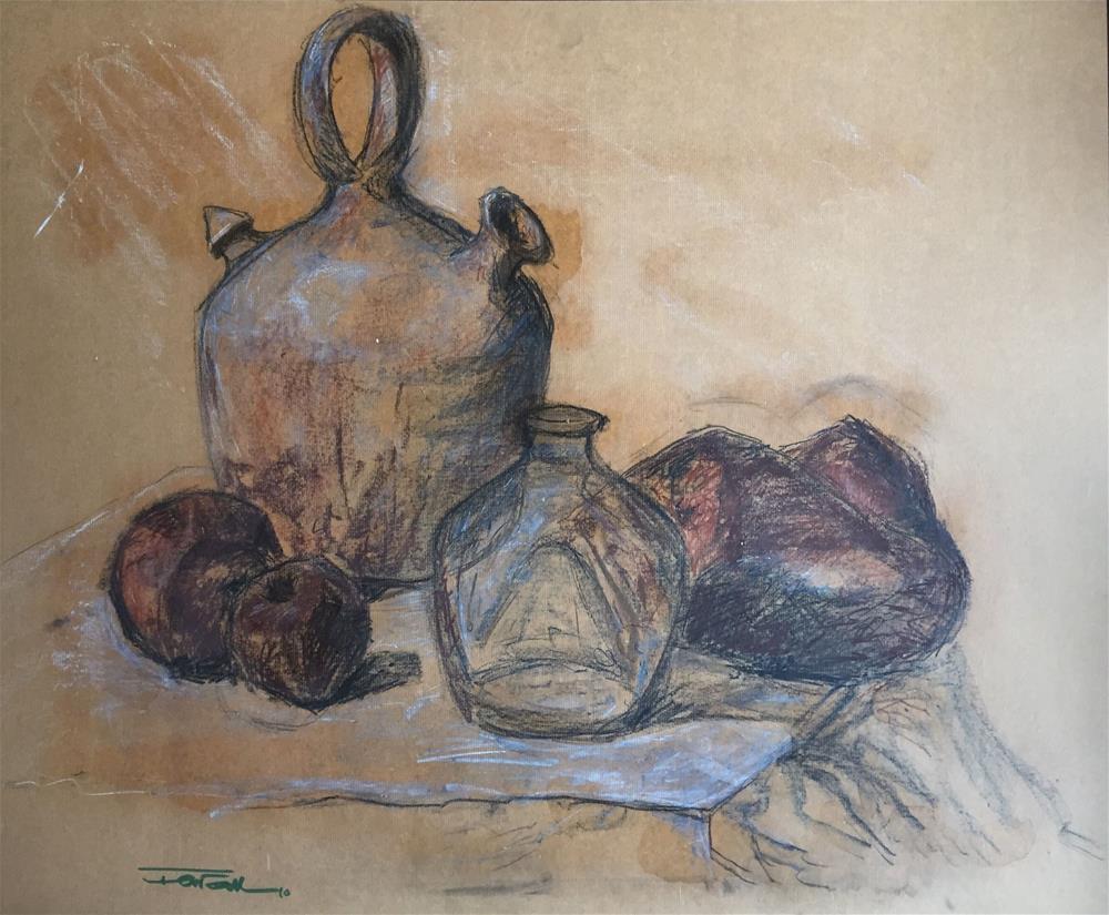 """""""BODEGÓN"""" original fine art by Ferran Llagostera"""