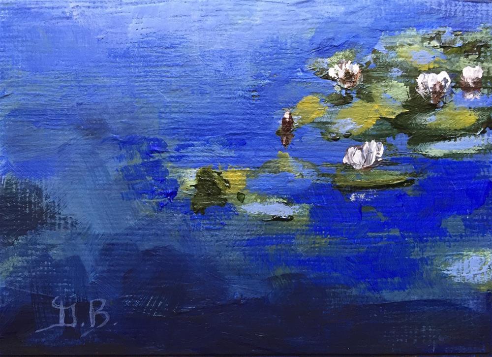 """Japanese Garden"" original fine art by Gary Bruton"