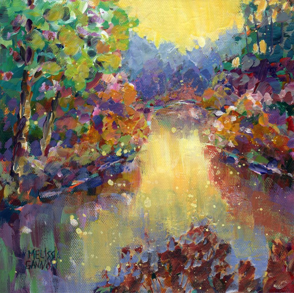 """River Magic"" original fine art by Melissa Gannon"