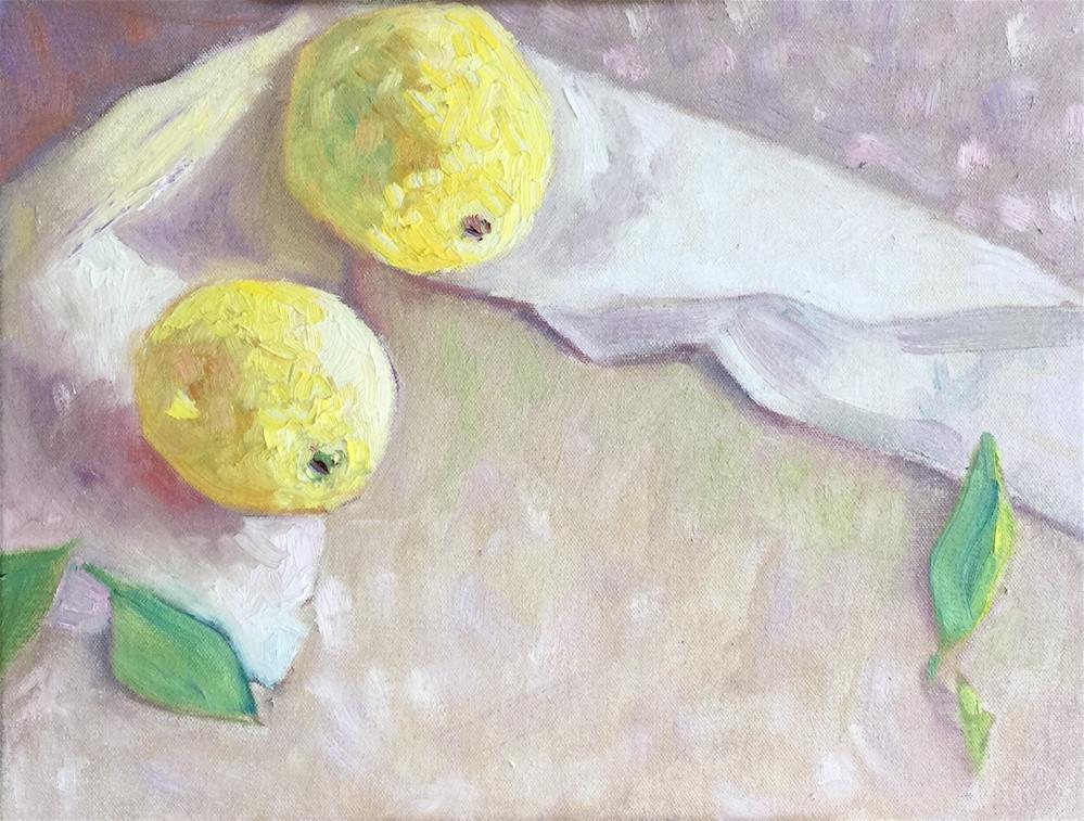 """Morning Harvest"" original fine art by Virginia Fergus"
