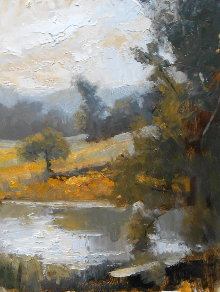 """Spring Morning"" original fine art by Kelli Folsom"