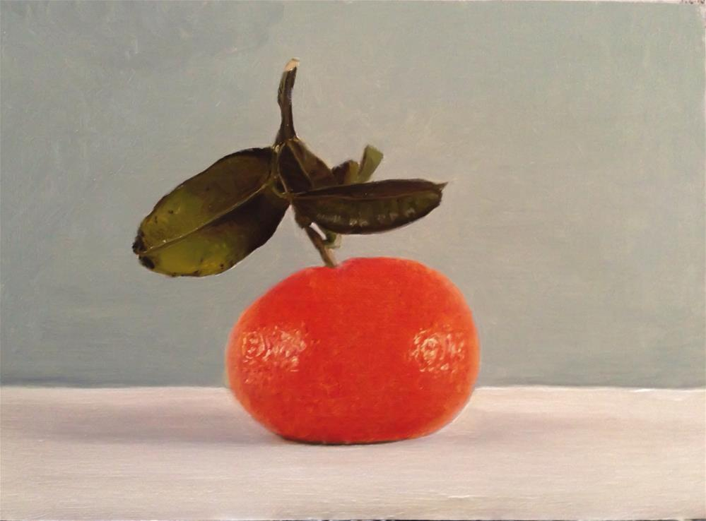 """Clementine"" original fine art by James Coates"