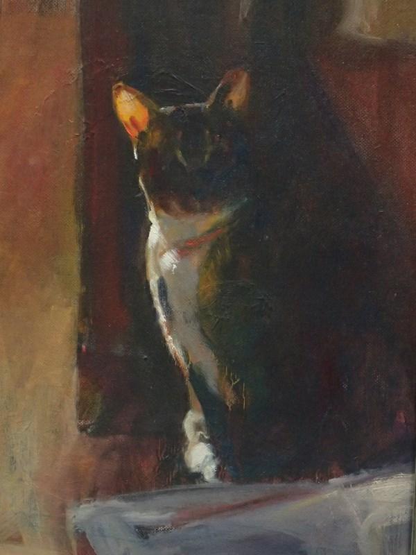 """Light Peek"" original fine art by Sharon Savitz"
