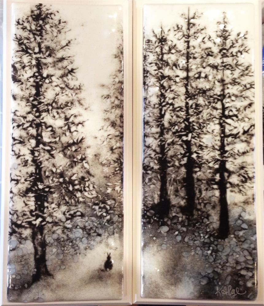 """In the White Pine Forest"" original fine art by Kelly Alge"