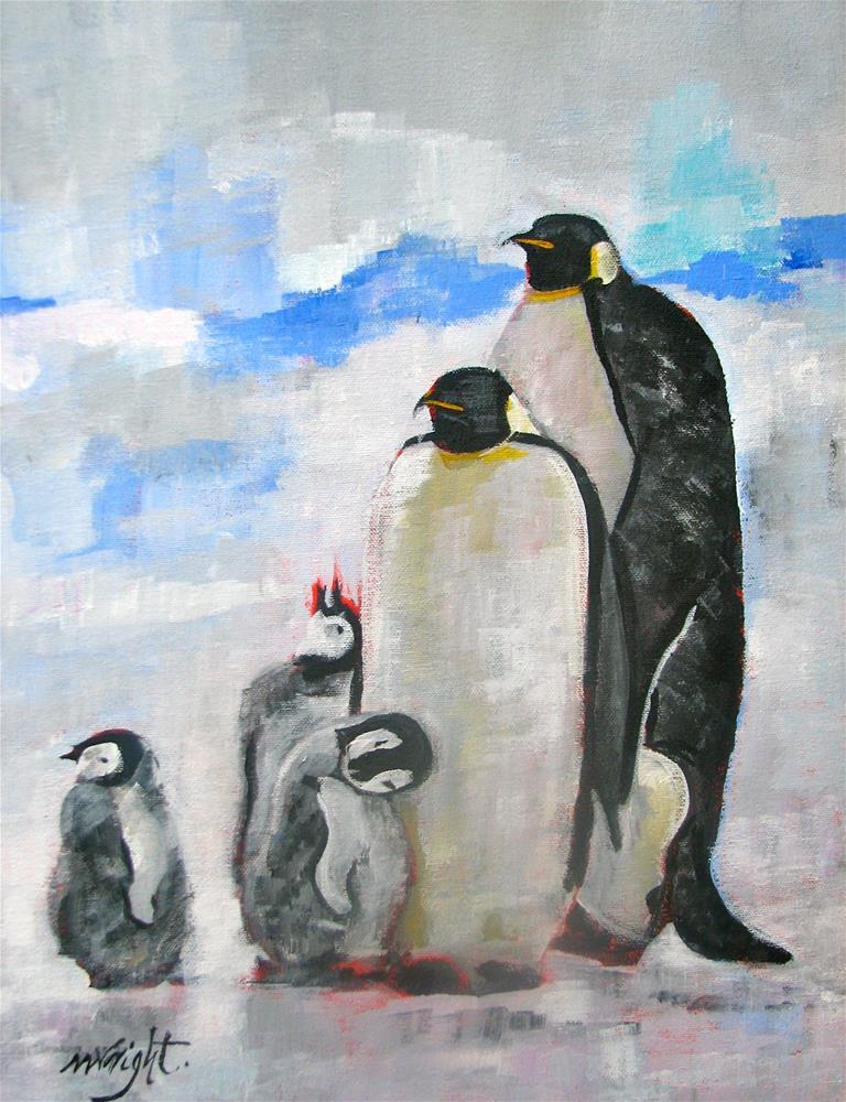 """Family Portrait"" original fine art by Molly Wright"