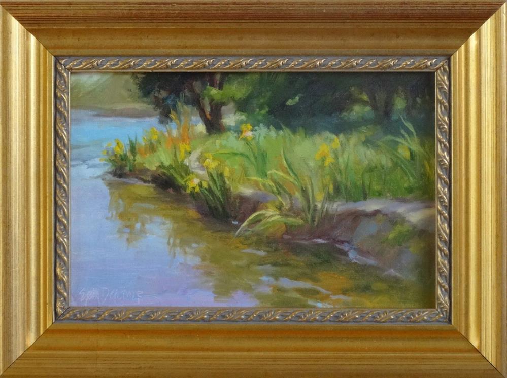 """""""Quiet Inlet"""" original fine art by Erin Dertner"""