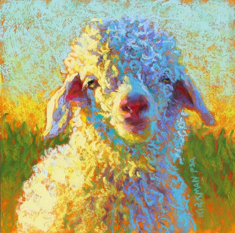 """Squiggly"" original fine art by Rita Kirkman"