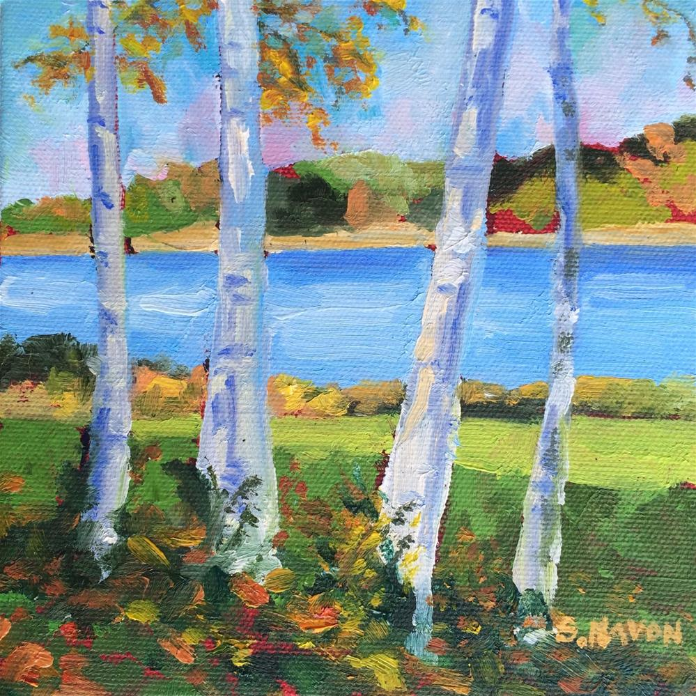 """Serenity"" original fine art by Stephanie Navon Jacobson"