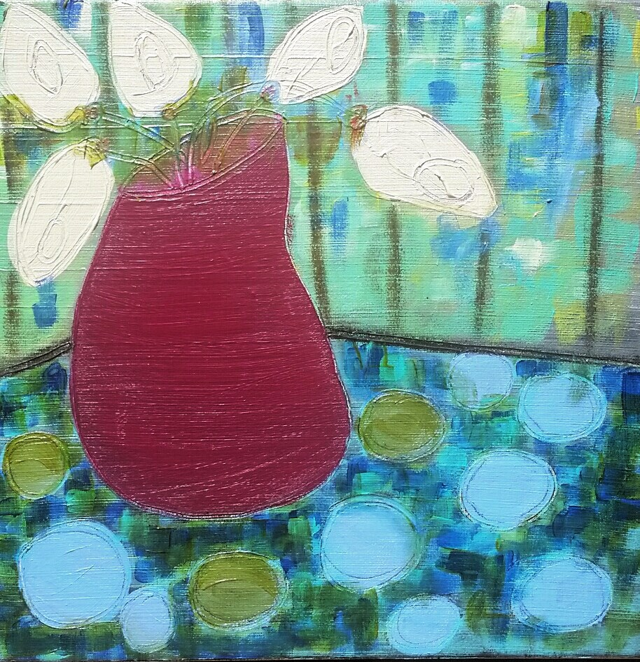 """I am awake"" original fine art by Christy Tremblay"