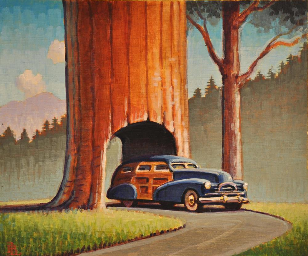 """Redwood"" original fine art by Robert LaDuke"