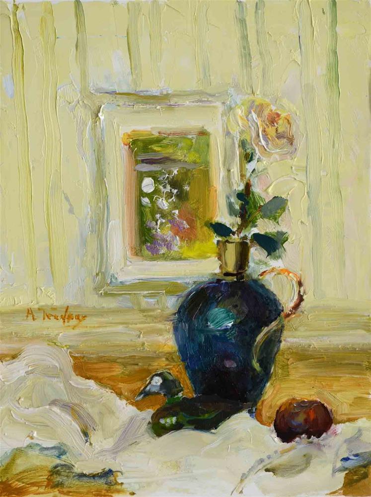 """A Little Still Life"" original fine art by alicia tredway"