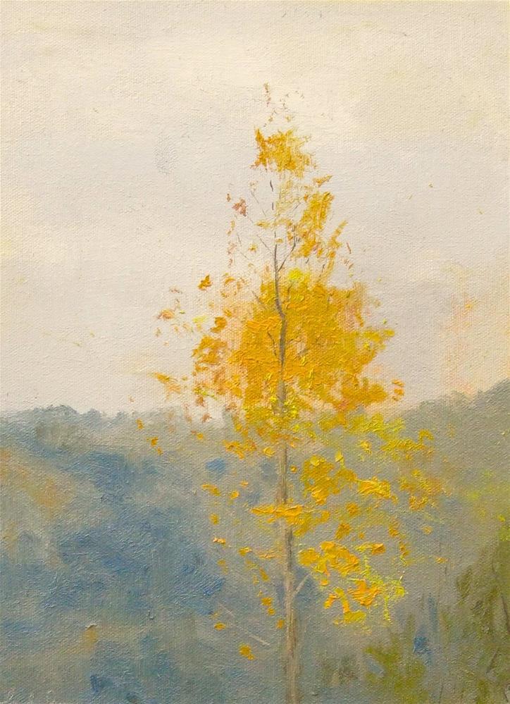 """Fall Chroma"" original fine art by kay  keyes farrar"