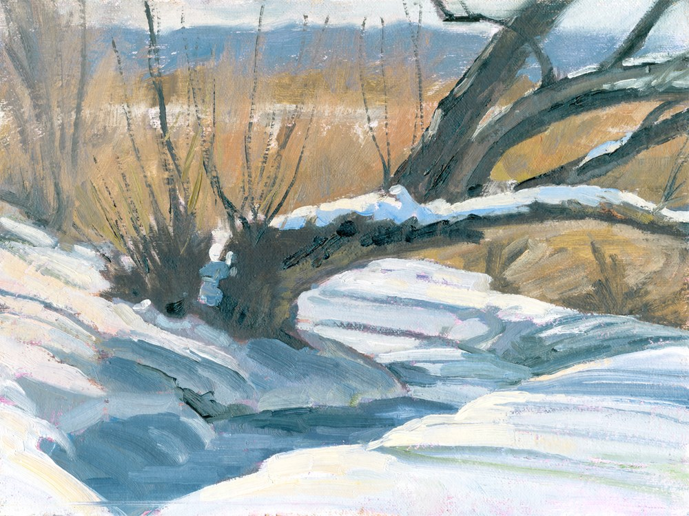 """""""The Old Stream Bed"""" original fine art by Kath Reilly"""