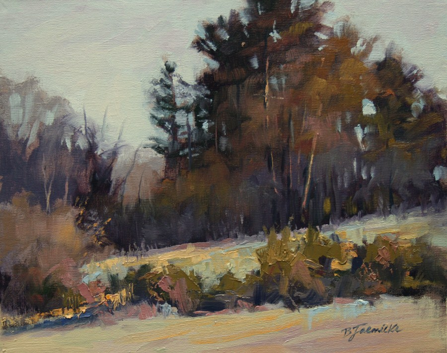 """Late Afternoon Moment"" original fine art by Barbara Jaenicke"