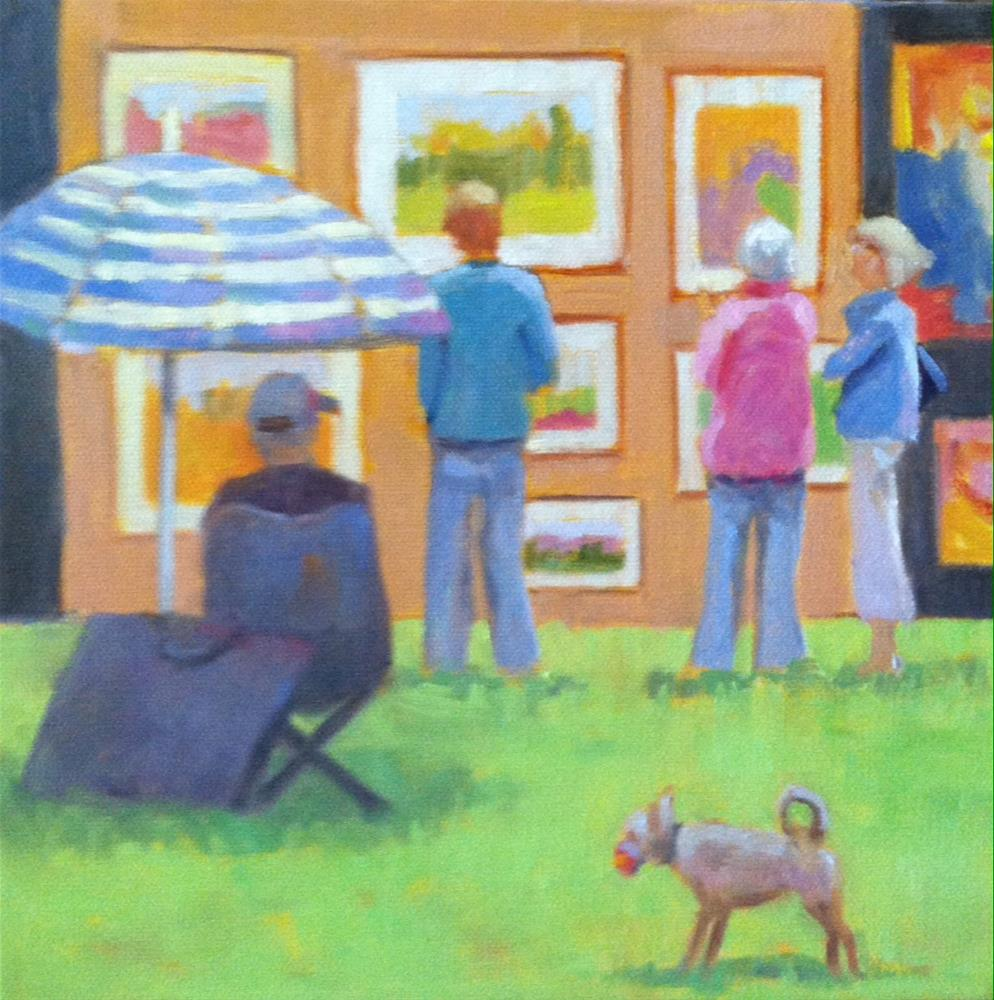 """Art Festival"" original fine art by Katharine March"