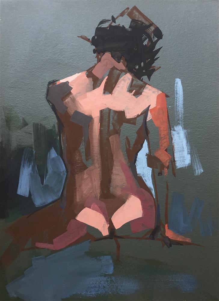 """""""No.25"""" original fine art by Kendall Portis"""