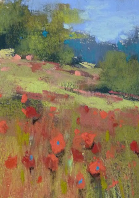 """How to Paint a Series Quickly ...Poppy Paintings"" original fine art by Karen Margulis"
