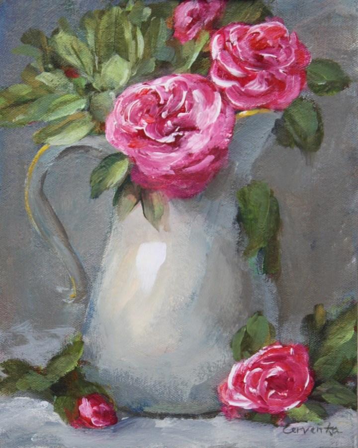 """""""Country Elegance"""" original fine art by Sue Cervenka"""