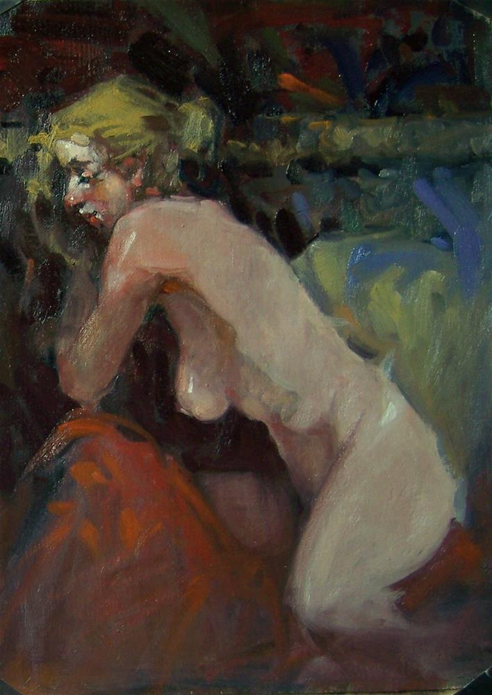 """""""Reverie Kim Roberti's WORKSHOP COUNTDOWN 16days to MARCH 13...see you there"""" original fine art by Kim Roberti"""