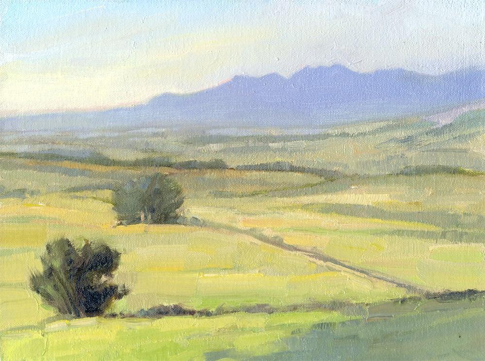 """""""Rabbit Mt. View"""" original fine art by Kath Reilly"""