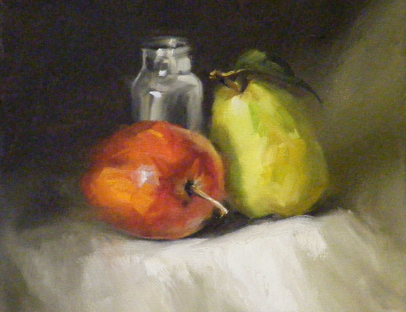 Cuddle Up, Still Life original fine art by Diana Delander