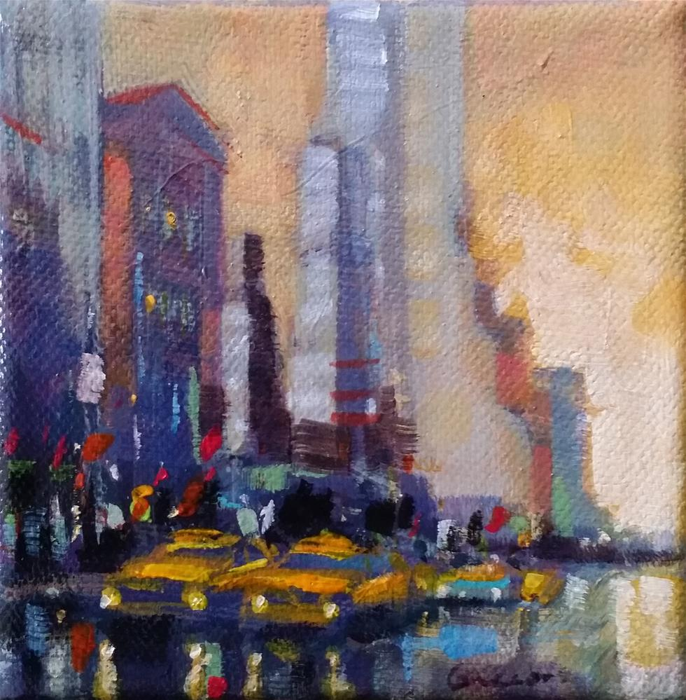 """New-York #4"" original fine art by salvatore greco"