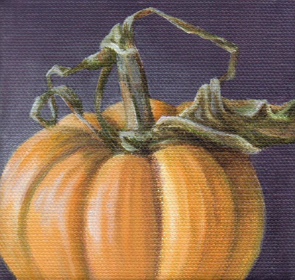 """Autumn Gift"" original fine art by Debbie Shirley"