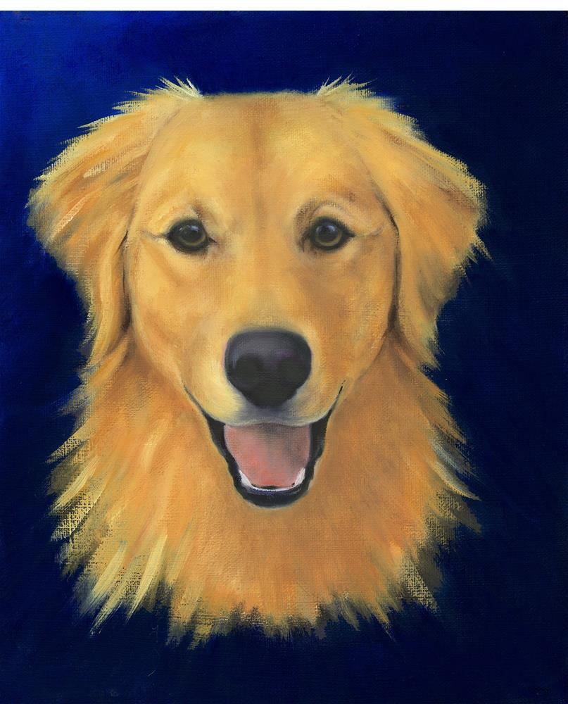 """Henry"" original fine art by Susanne Billings"