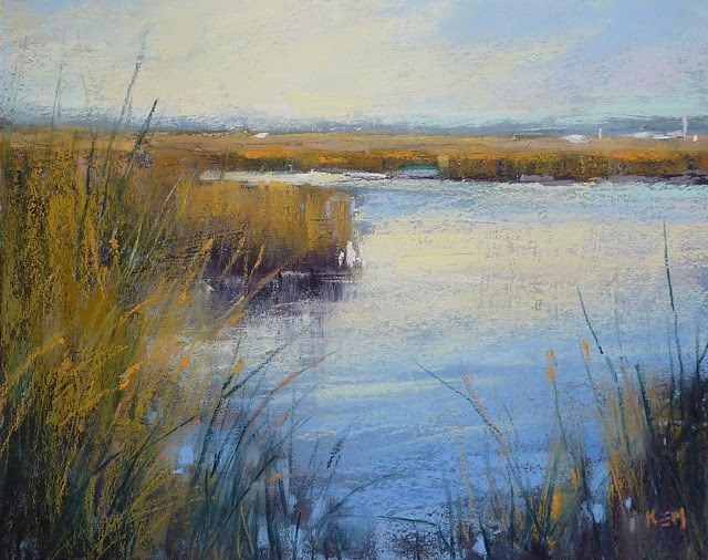 """""""Lesson From an Unintentional Underpainting: Weekly Inspiration"""" original fine art by Karen Margulis"""