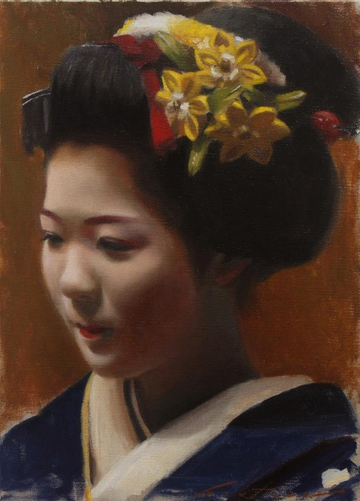 """Toshisumi Study"" original fine art by Phil Couture"