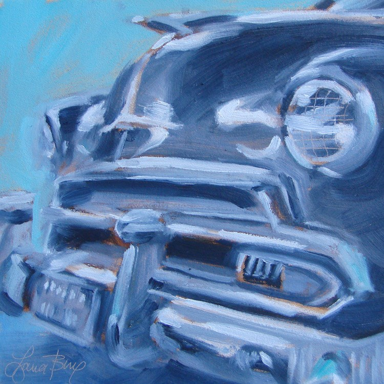 """Another Classic - 380"" original fine art by Laura  Buxo"