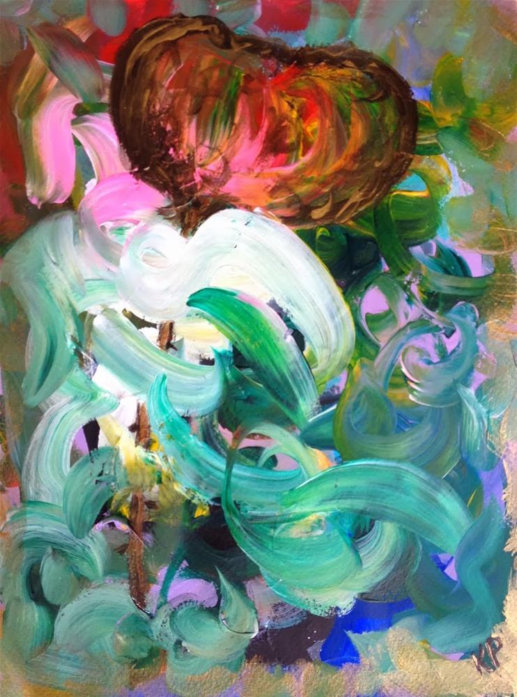 """Entangled"" original fine art by Kali Parsons"