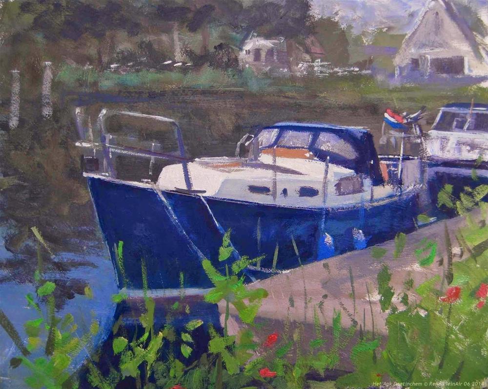 """Het Ank. Doetinchem, Holland."" original fine art by René PleinAir"