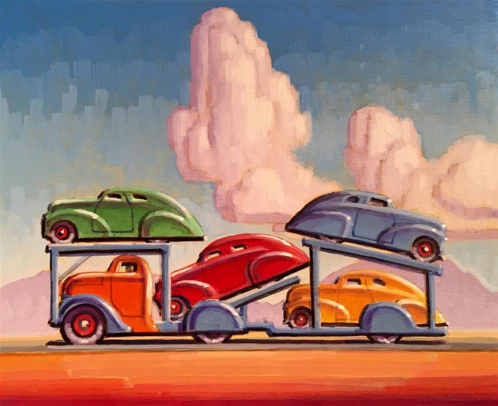 """Primary Colors"" original fine art by Robert LaDuke"