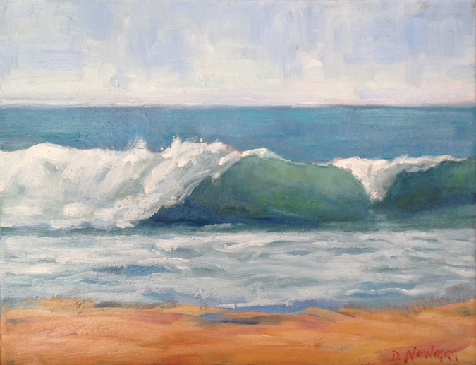 """Laguna Beach"" original fine art by Deborah Newman"