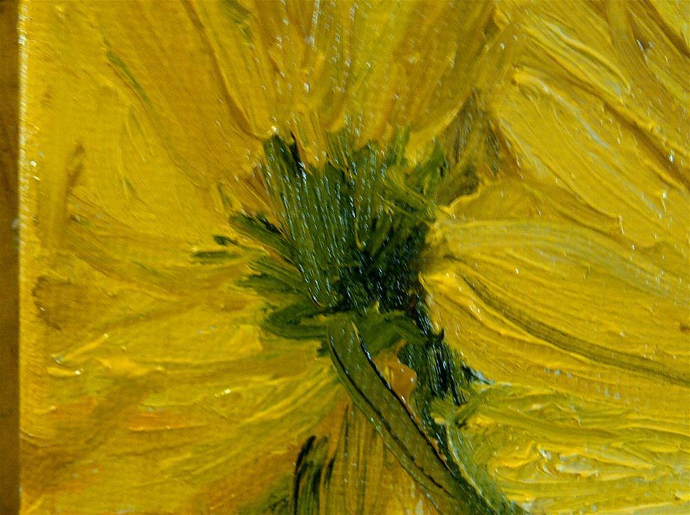 """sunflower bouquet"" original fine art by Jo Allebach"