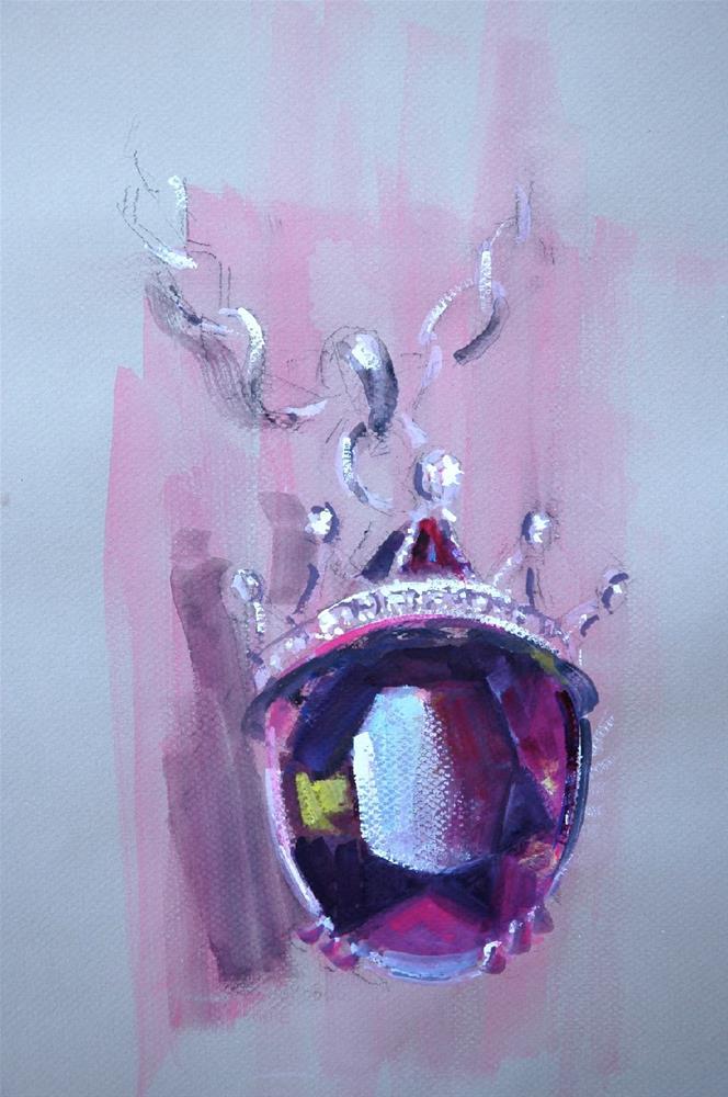 """""""Gem-alicious"""" original fine art by Johanna Spinks"""