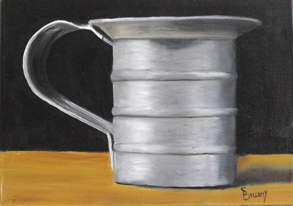 """Miniature Baker's Measure"" original fine art by Sherry Bellamy"