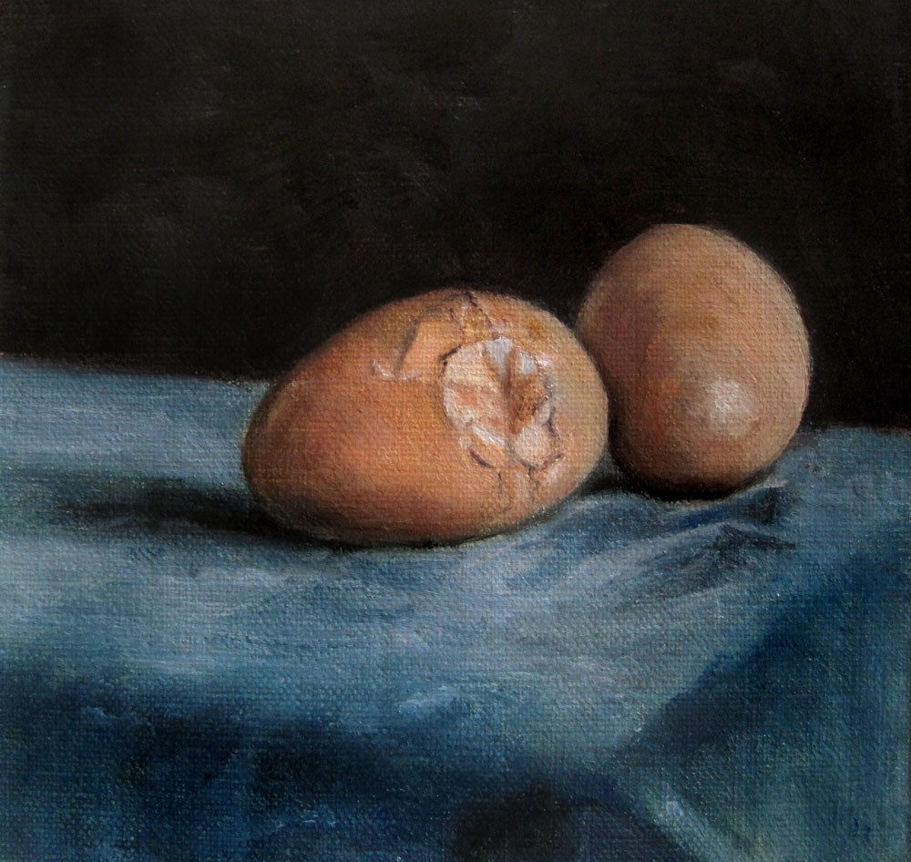 """Ready for the Pan"" original fine art by Ulrike Miesen-Schuermann"