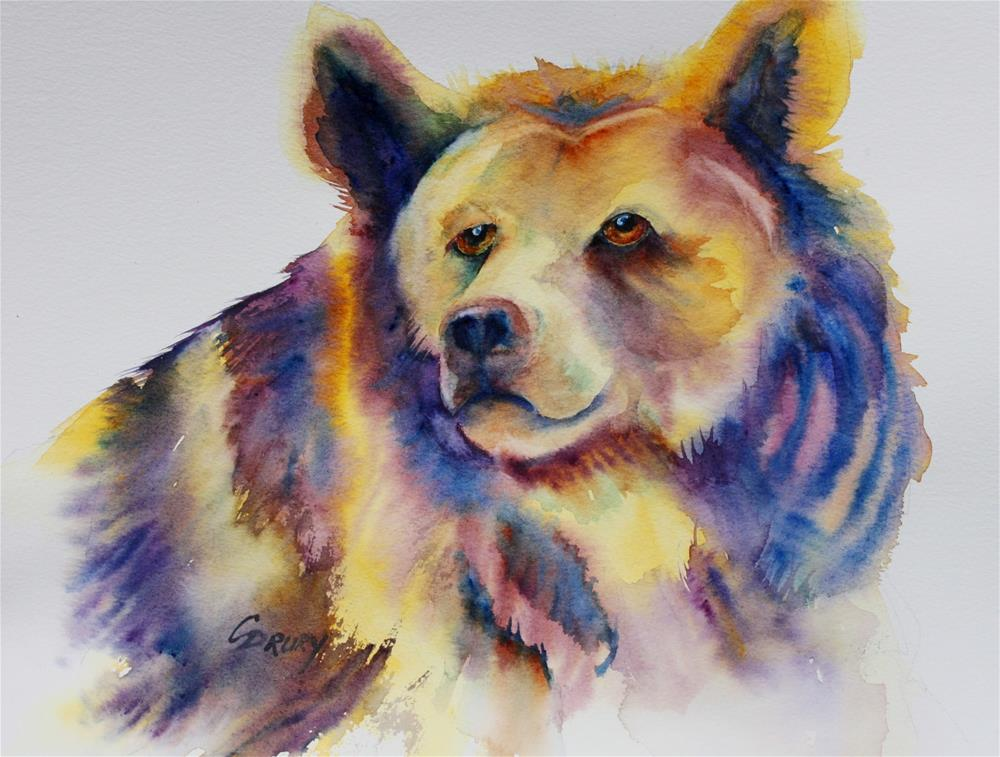 """I''ve Got a Colorful Profile"" original fine art by Colleen Drury"