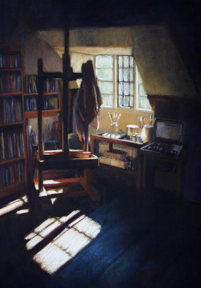 """Studio at 81"" original fine art by Liz Balkwill"
