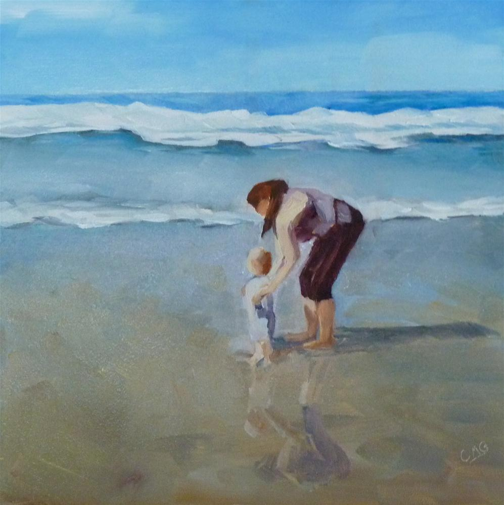 """Hello, Pacific!"" original fine art by Cindy Greene"